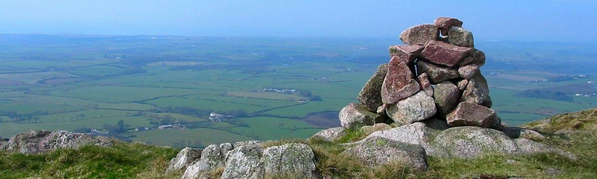 View from Muncaster Fell on the Furness Way