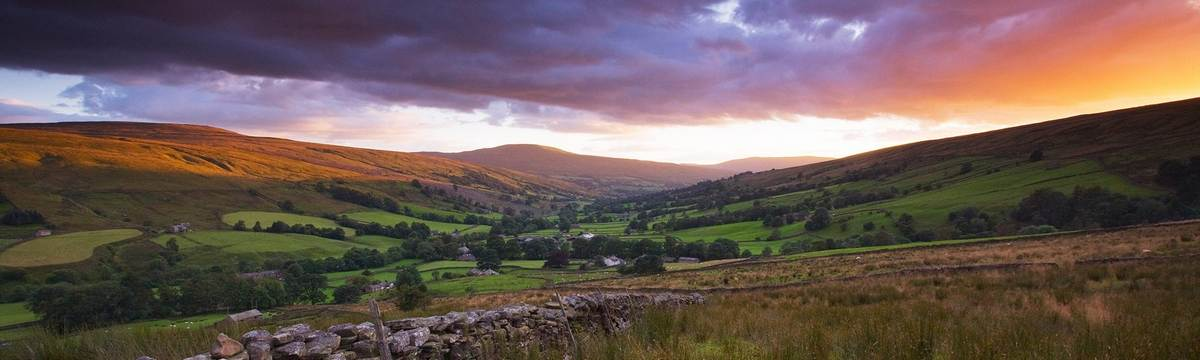 Dentdale on the Dales Way