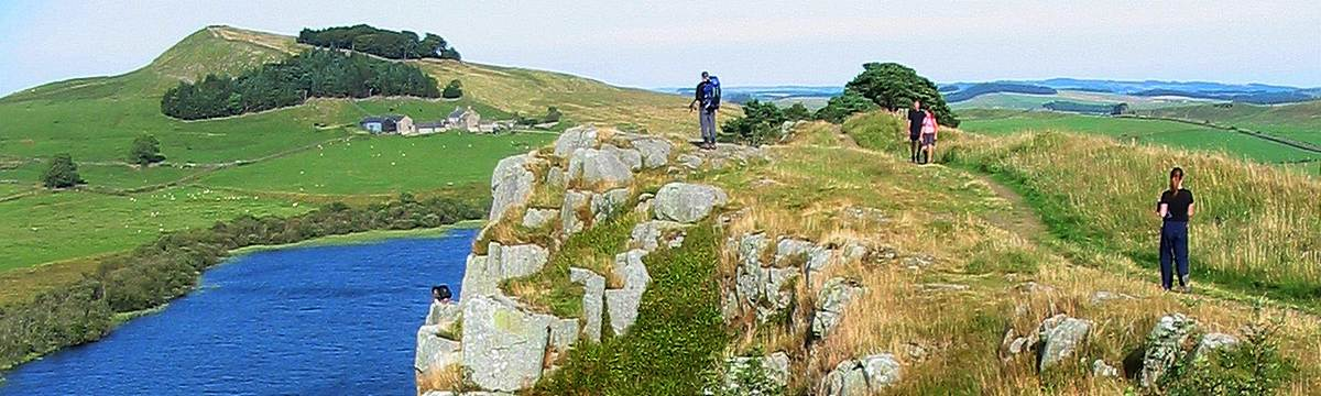 Crag Lough on Hadrian's Wall