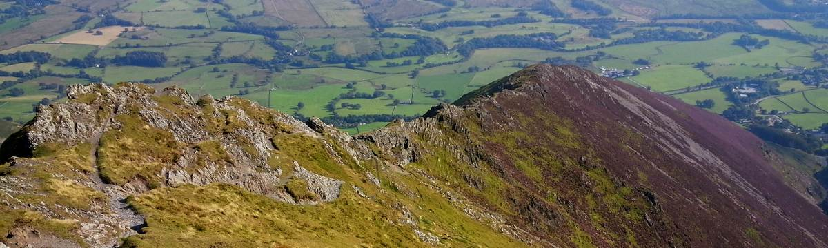 Halls Fell descent from Blencathra