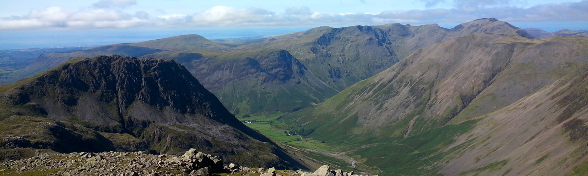 View fom Scafell Pike