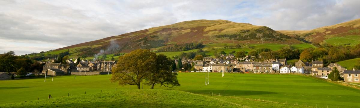 Sedbergh on the Dales Way - photo by Dave Willis
