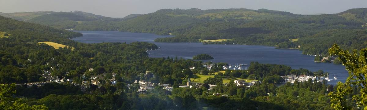 Windermere from Orrest Head - photo by Dave Willis