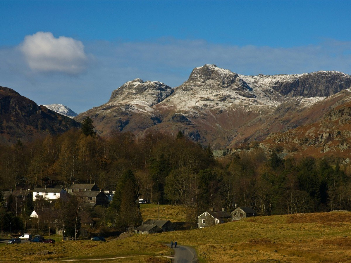 Langdale Pikes by Dave Willis