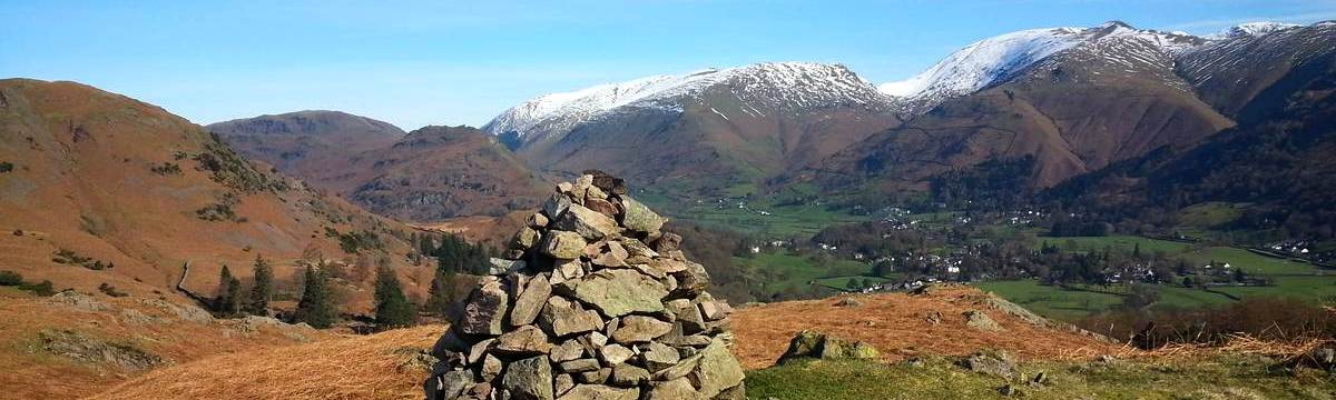 Grisedale Hause from Silver Howe