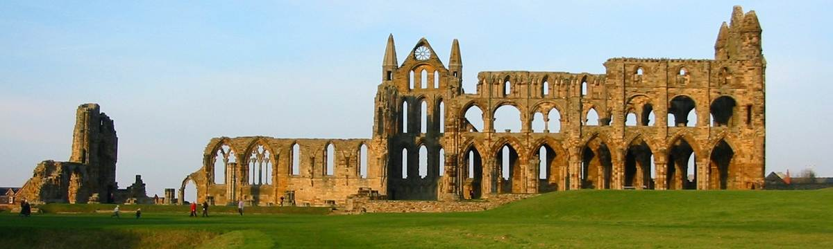 Whitby Abbey on the Cleveland Way