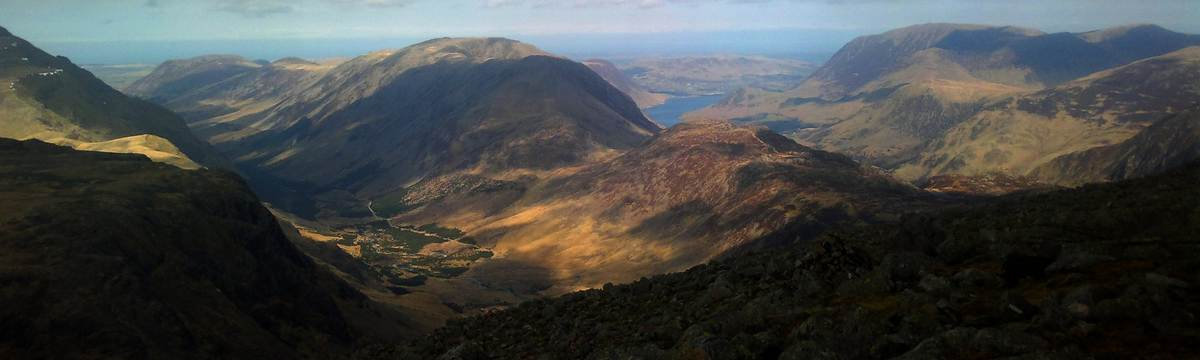 Buttermere and Ennerdale from Green Gable